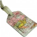 Map Luggage Tag