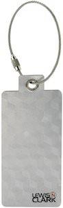 Lewis N. Clark Aluminium Luggage Tag