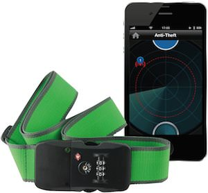 WiBelt Luggage Strap With Bluetooth Tracking