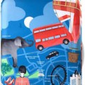 London suitcase cover