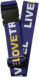 Live Love Tavel Luggage Strap by ORB
