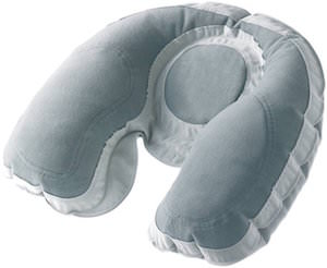 Super Snoozer Inflatable Travel Neck Pillow