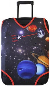Planets In The Galaxy Suitcase Cover