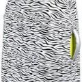 Zebra Print Suitcase Cover