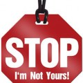 Stop I'm Not Yours Luggage Tag