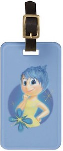 Disney Pixar Inside Out Fun Luggage Tag