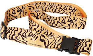Tiger Print Luggage Strap