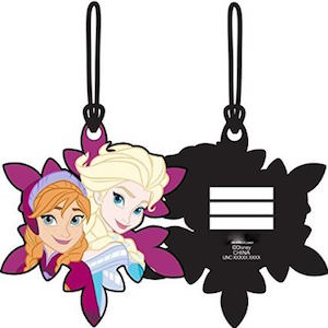 Frozen Anna And Elsa Luggage Tag