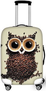 Owl Suitcase Cover