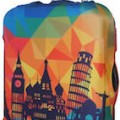 Tourist Attraction Suitcase Cover