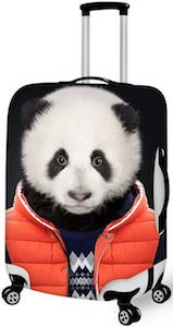 Cute Panda Suitcase Cover