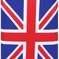 Union Jack Flag Suitcase Cover
