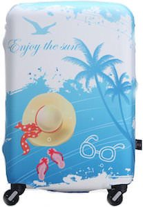 Enjoy The Sun Suitcase Cover
