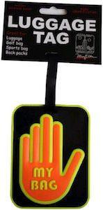 My Bag Neon Hand Luggage Tag