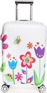 Summer Flowers Suitcase Cover