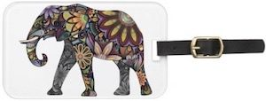 Special Elephant Luggage Tag