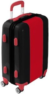 Red And Black Suitcase