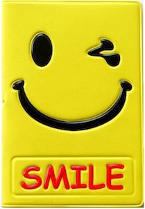 Smiley Face Passport Cover