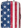 US Flag Suitcase Cover