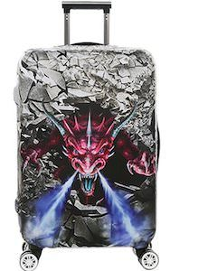 Angry Dragon Suitcase Cover