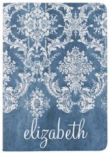 Damask Pattern Passport Cover