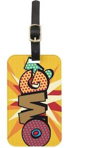OMG luggage tag