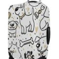 Many Dogs Suitcase Cover