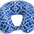 Blue Trellis Travel Pillow