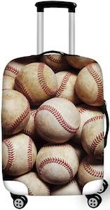 Baseballs Suitcase Cover