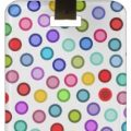 Lots Of Dots Luggage Tag
