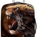 Cheetah Loosing Its Spots Suitcase Cover