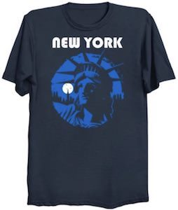New York Statue Of Liberty T-Shirt