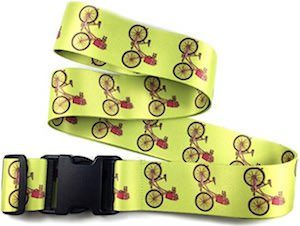 Luggage Strap With Bicycle