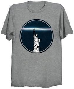 The Light From The Statue Of Liberty T-Shirt