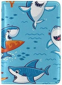 Fun Sharks Passport Holder
