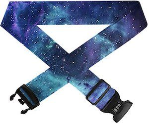 Galaxy Print Luggage Strap