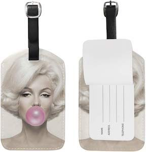 Marilyn Monroe Bubblegum Luggage Tag