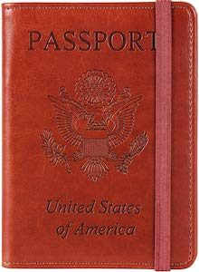 USA Passport Cover With RFID Block