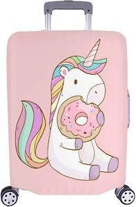 Donut And Unicorn Suitcase Cover