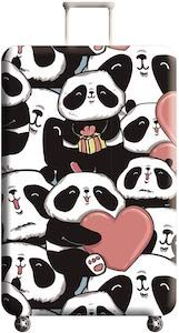 Loveing Panda's Suitcase Cover