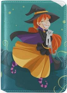 Cute Witch Passport Cover