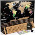 Scratch Of World Map