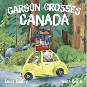 Carson Crosses Canada Kids Book