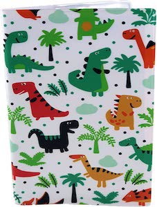 Kids Dinosaur Passport Cover