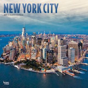 2021 New York City Wall Calendar