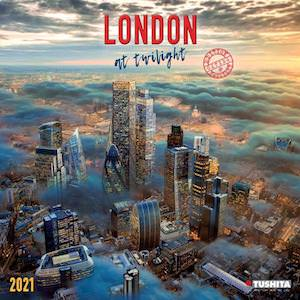 2021 London At Twilight Wall Calendar