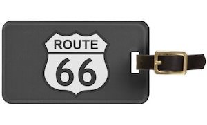 Route 66 Luggage Tag