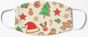 Christmas Cookies Face Mask