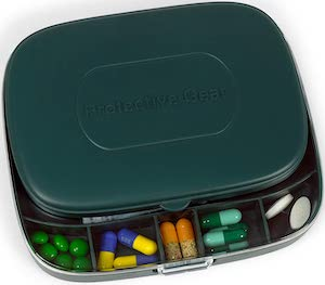 Mask And Pills Travel Case