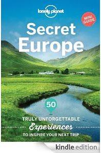 Loney Planet Secret Europe travel book